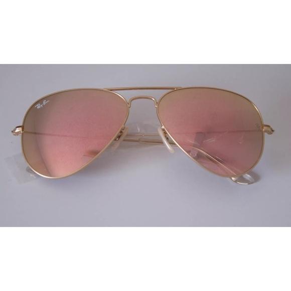 a1936ec077f Ray-Ban aviator copper flash lens gold frame 58MM